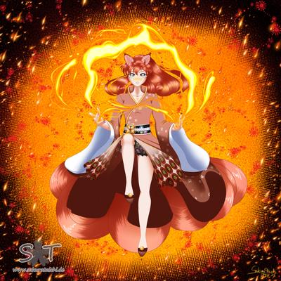Gijinka Pokemon Vulpix, war ein Wunsch eines sehr netten Menschen <3