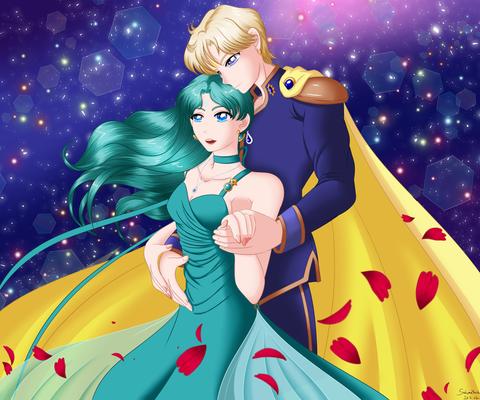 Michiru und Haruka