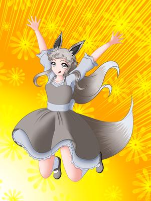 Shiny Evoli commission!