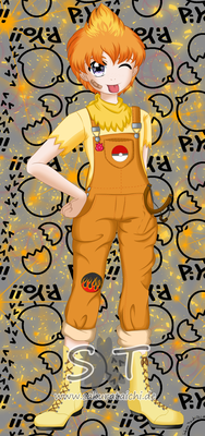 Gijinka Pokemon Flemmli