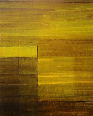 Substanz 02 · Acryl auf Holzpaneel · 100x130 cm