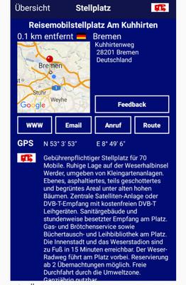 """Stellplatz """"Am Kuhhirten"""" auf Promobil-App"""