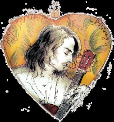 2015  pen+PC Happy Birthday Johnny Depp.