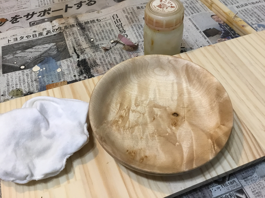 メープルのお皿