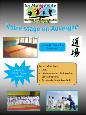 stage arts martiaux La Margeride