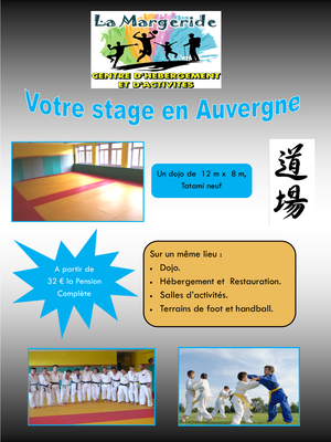 stage arts martiaux La Margeride, Saugues, Auvergne