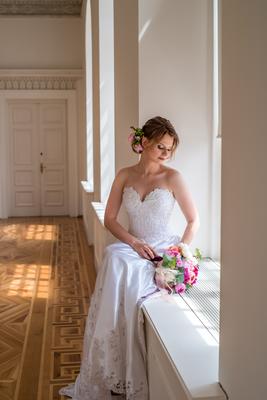 Verträumte Braut