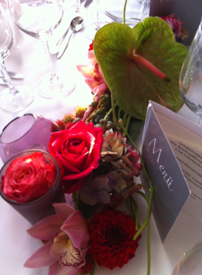 Attraktive Tischdeko für Ihr Restaurant in München