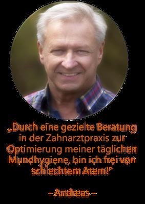 Mundgeruch Patient Köln, Dietsche & Wichary Köln, Zahnarzt