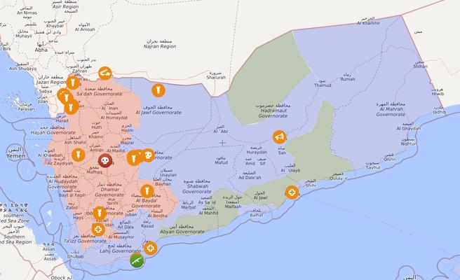 Jemen, 01.06.2020 - livemap