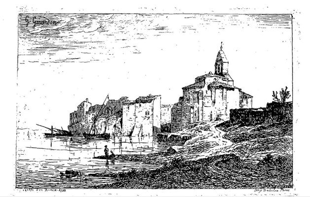 Girardon, paysage de Provence, in Gazette des Beaux-Arts.