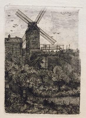 Vollon, Le moulin Blute.