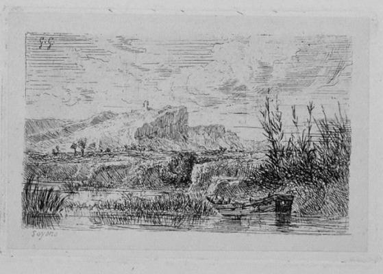 """Girardon,  """"Album Le Rhône"""", Soyons, 8 x 11"""