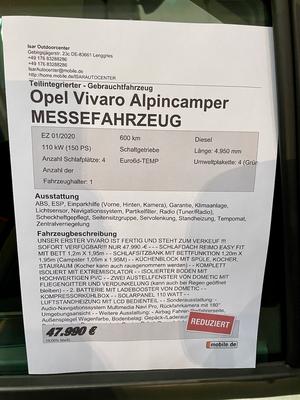 Ab hier der Ausbauer Alpincamper.