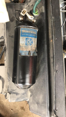 Die originale Diavia-Trocknerflasche.