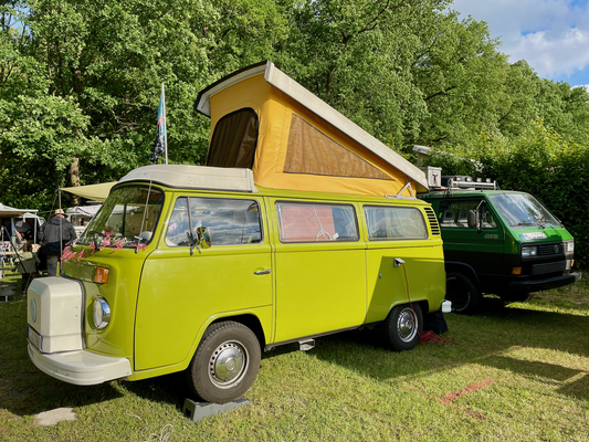 T2 Westfalia aus den 1970er Jahren.