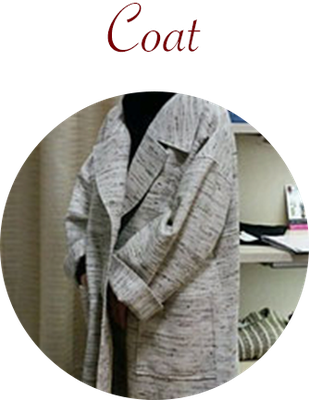 オーダーメイド婦人服 コート