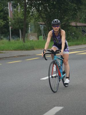 Wettkampf: 20km Radfahren
