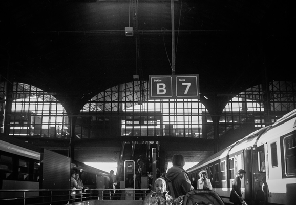 Bahnhof Basel, Kodak Six-20 Brownie Box 1920