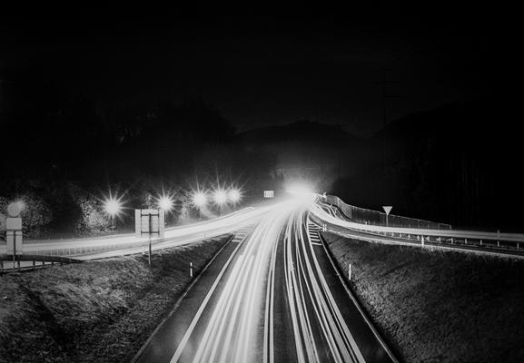 Streetlights, Nikon F80