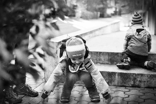 Mädchen, Nikon F501