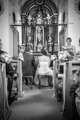 Hochzeitsfotograf aus Luzern - Kirche