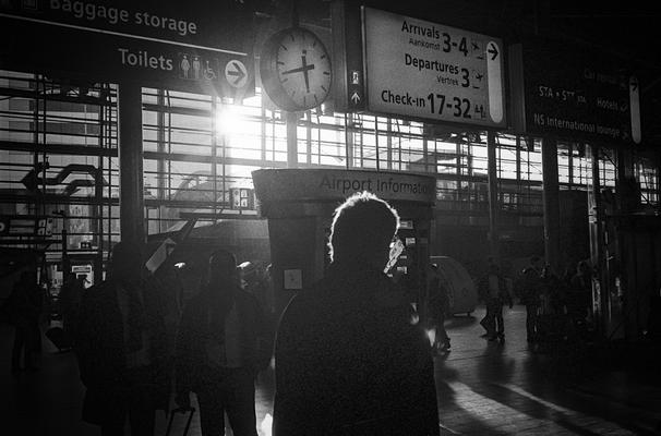 Schipol Amsterdam Flughafen, Nikon F80