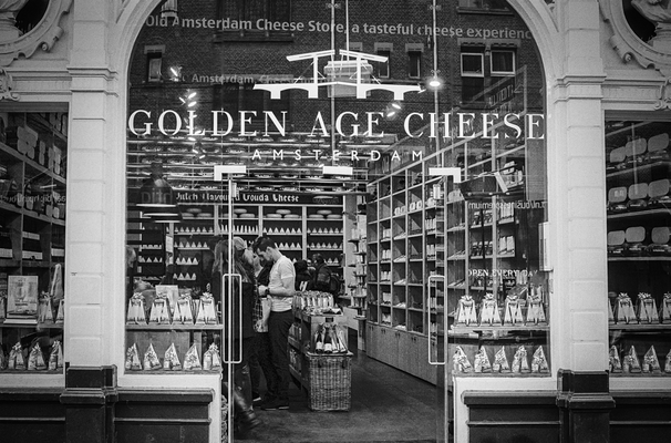 Golden Age Cheese, Amsterdam, Nikon F80