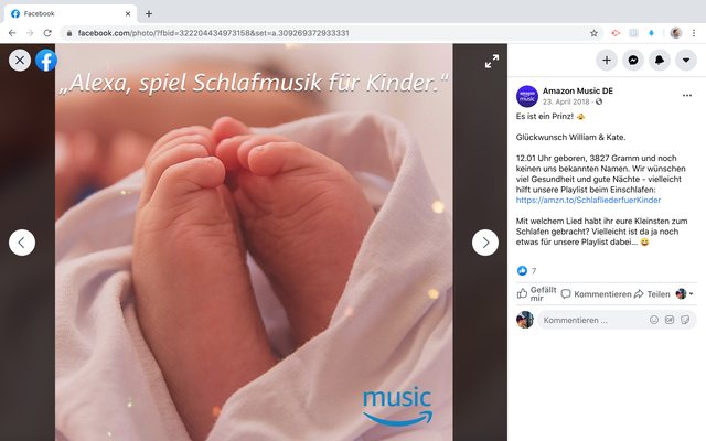Amazon Music Social Media Launch