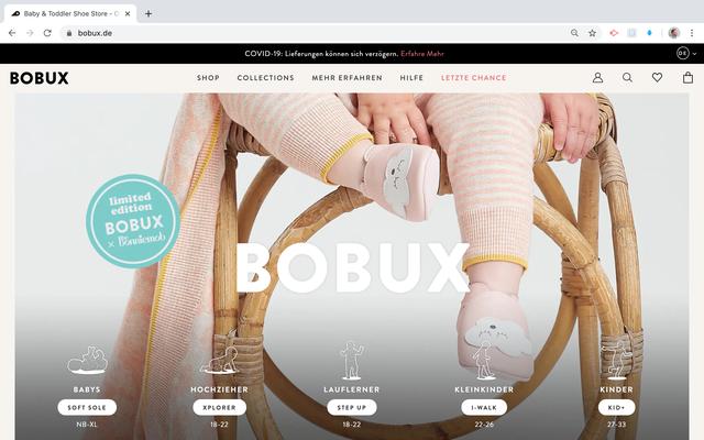 Bobux Kundenkommunikation