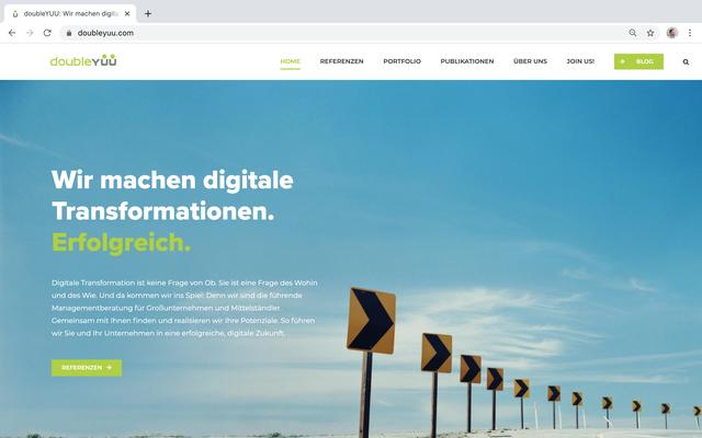 doubleYUU Website