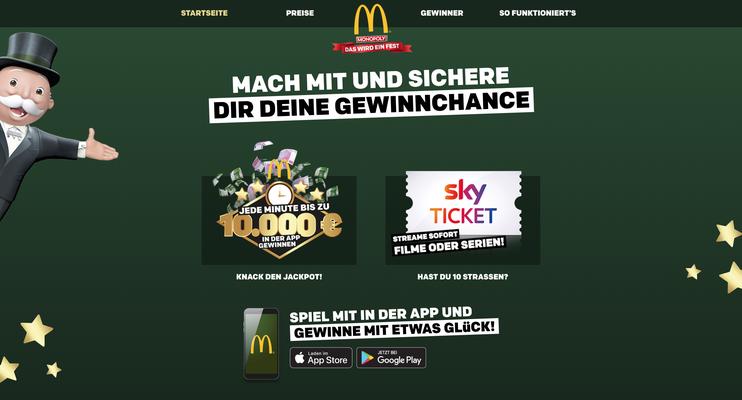 """McDonald's """"Monopoly"""""""