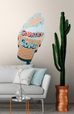 Sticker glace Papermint.