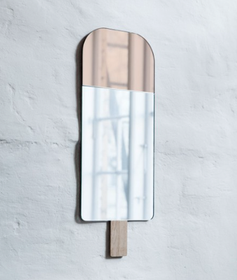 Miroir ice cream rose Fleux.