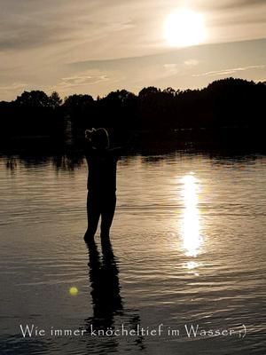 Fotografin im Wasser
