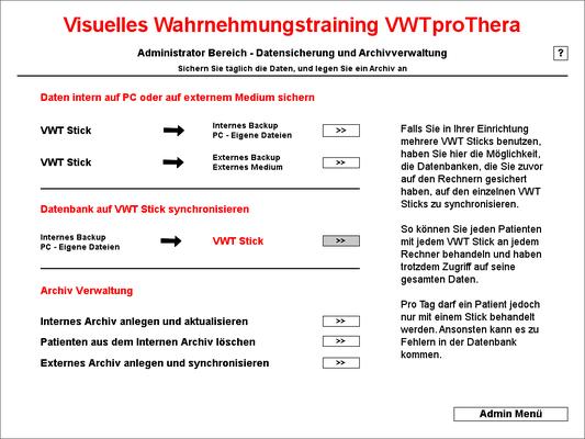 Synchronisation - quasi Netzwerk bei Einsatz mehrerer Rechner und VWT Sticks