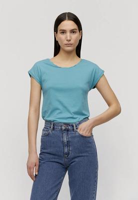 LAALE T-Shirt aus Bio-Baumwolle teal blue – €29,90