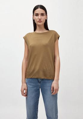 JILAA T-Shirt aus TENCEL™ Lyocell golden khaki €39,90