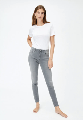 TILLAA X STRETCH Skinny Fit Mid Waist asphalt grey – € 109,90