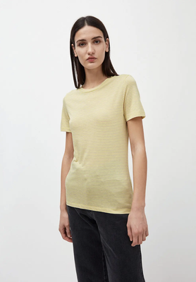 LIDAA RING T-Shirt aus TENCEL™ Lyocell Mix lime-kitt – €39,90