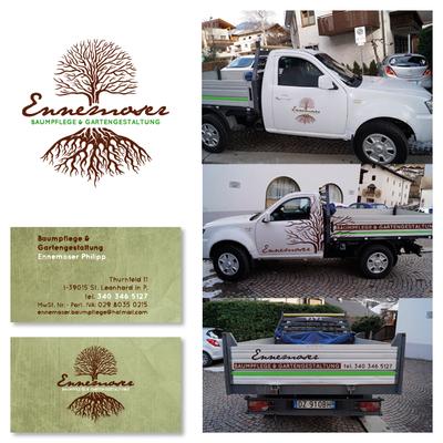 "Logo Design + Corporate Design ""Baumpflege Ennemoser"""