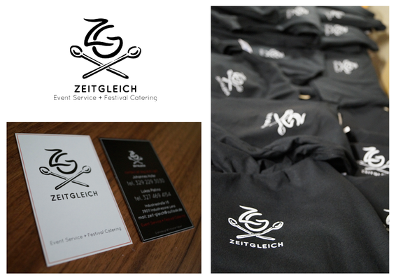 "Logo Design + Corporate Design ""Zeitgleich"""