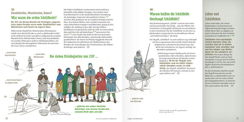"""Buchillustration für """"Die Schildhöfe in Passeier"""" (Schrift und Layout: design.buero) _Tusche Zeichnung - digital"""