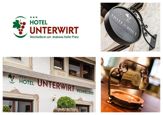 """Logo Design """"Hotel Unterwirt"""""""