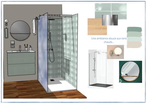 3D salle de bain R+1