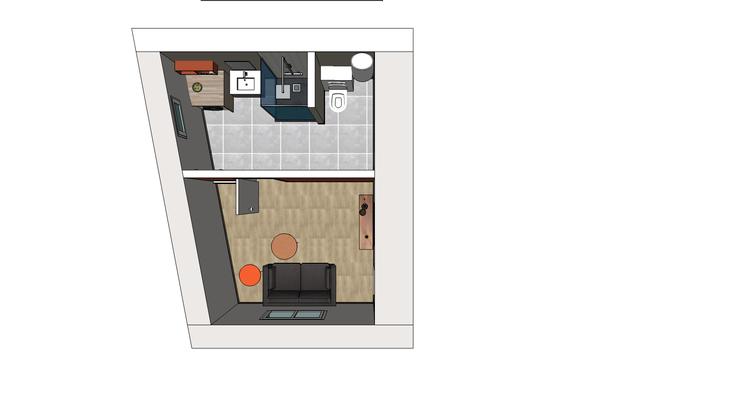 Salle de bains 3D Etude n°2; Centre Val de Loire, Indre et Loire 37, Isabelle Mourcely Décoratrice d'intérieur UFDI Tours-Chinon 37