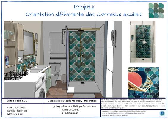 3D  salle de bain RDC