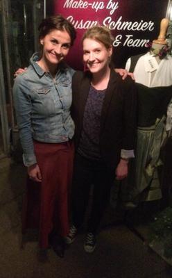Da haben sich zwei gefunden! v.l.: Marion Schiefer und Susan Schmeier