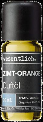 Zimt-Orange Duftöl von wesentlich.