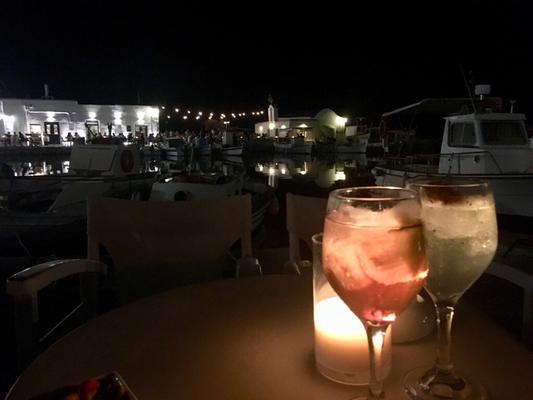 Paros Naoussa Cocktails Agosta